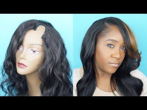 DIY: U-PART WIG TUTORIAL USING VIRGIN REMY HAIR | ft SAMBEAUTY