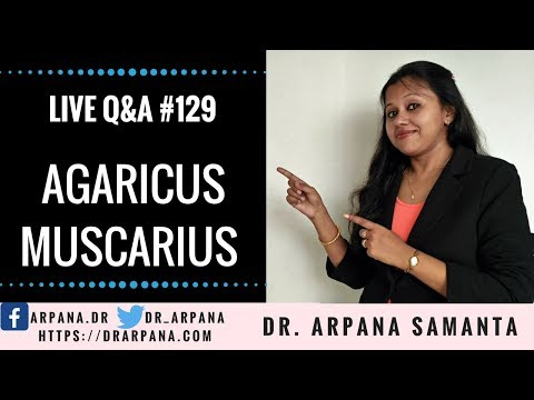 AGARICUS MUSCARIUS Homeopathic Medicine || Live Homeopathic Consultation #129