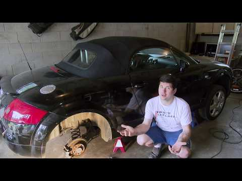 How to Replace the Rear Struts (shock absorbers) in an Audi/VW