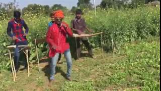 Char bangadi vali gadi Audi  lai dau song funny boy sance video comedy dance 2017
