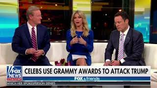 Fox & Friends Whine About The Grammy Awards