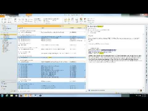 Microsoft Outlook 2010 Folders