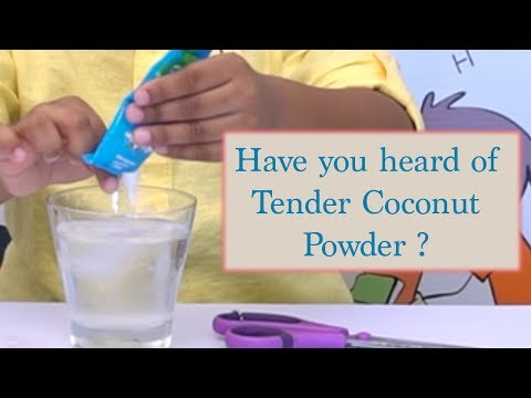 How to make tender coconut water with Natur Up Tender coconut powder – taste time