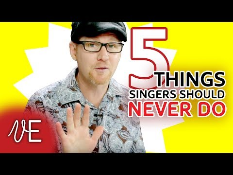 DESTROY YOUR VOICE in 5 easy steps! | Singing habits to AVOID | #DrDan 🎤
