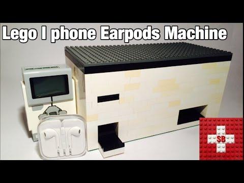 Lego Iphone Earpods Machine