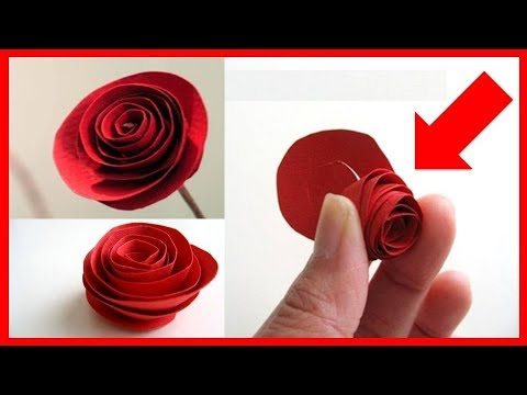 DIY Christmas decoration ideas | How to Make Paper Rolled Roses | Easy Crafts Ideas for Teenagers