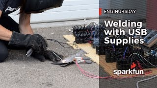 Enginursday: Welding with 60 USB Chargers