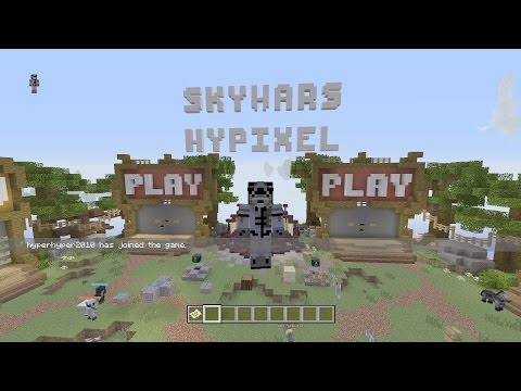 Minecraft: Xbox One/Xbox 360/Ps3 Hypixel Sky-Wars Map Collection V1.0 + Download