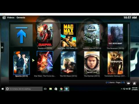 Kodi - Genesis and Trakt (Tracking your TV Shows and Movies)
