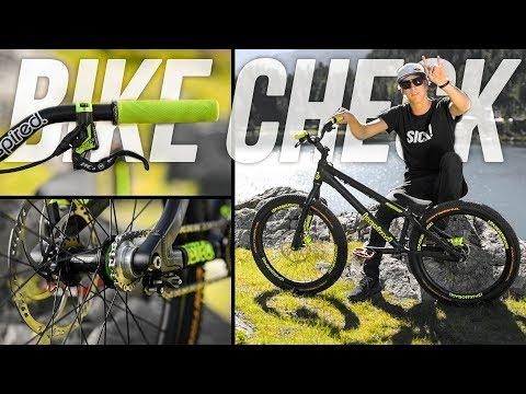 My new bike - the ultimative trials bike check - Fabio Wibmer 2017