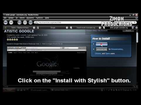 Mim's Tutorial - Firefox Stylish addon
