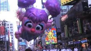 Sesame Street Float Macy