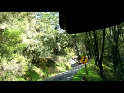 Driving to Muir Woods at San Francisco Bay, California, March 2018