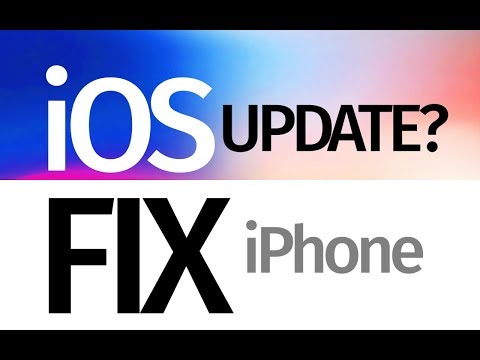 iPhone says it's up to date with iOS but it's not. Fix