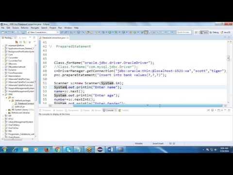 javaTutorial 9: to retrieve data from database using java Result set