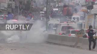State of Palestine: Dozens of Palestinians injured in West Bank riots