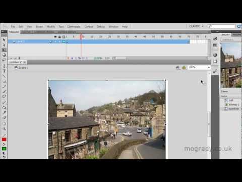 Flash CS5, Layer Properties Tutorial
