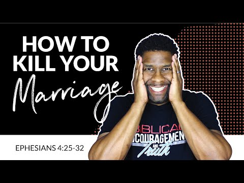 Marriage Killers | Things that will Destroy Your Marriage