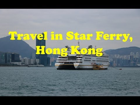 Travel in Iconic Star Ferry, Hong Kong
