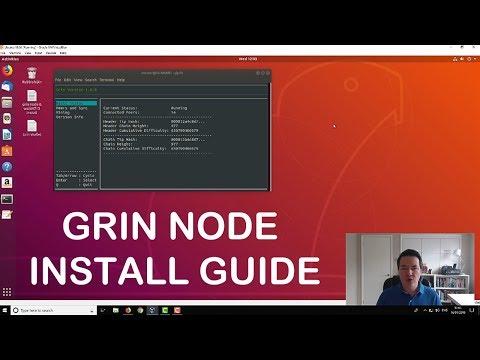 Grin Node Install Guide