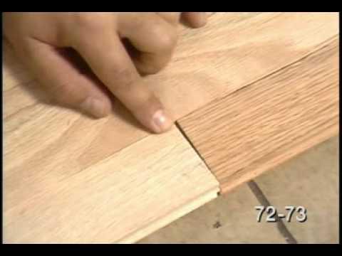 Hardwood Floor Edges and Details -