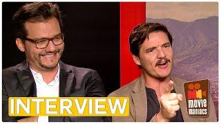 Narcos - Season 2 | Wagner Moura & Pedro Pascal on Season 2 (Interview) Netflix
