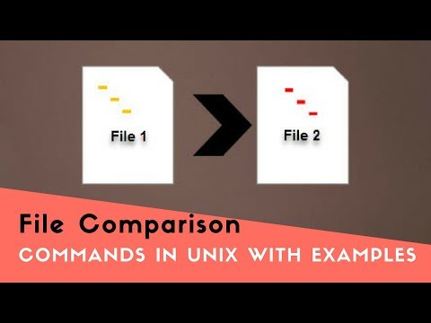 File Comparison Commands in Unix with Examples (Tutorial #3 Part C)