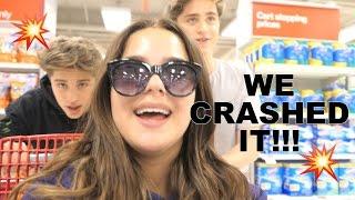 WE CRASHED IT!!!! W/ THE MARTINEZ TWINS!