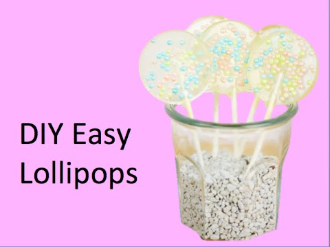 DIY Easy Lollipops