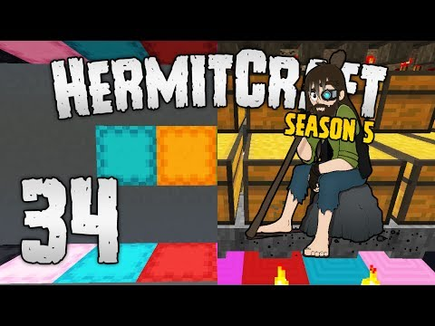 HermitCraft 5 - #34   Deals with the T-EVIL 😡 [Minecraft 1.12]