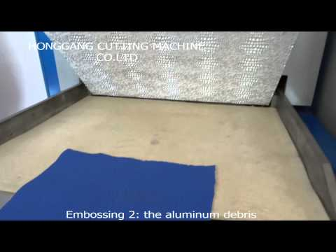 HG Leather embossing machine