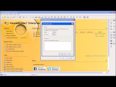 Setting Java Virtual Memory Minimum and Maximum Allocations