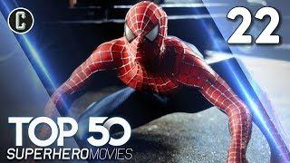 Top 50 Superhero Movies: Spider-Man - #22
