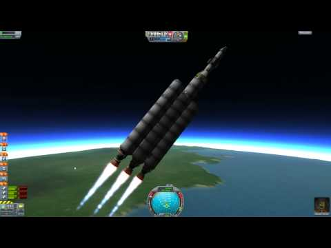 Kerbal Space Program Beginner's Guide - How to Get to the Mun (Moon) and Back!