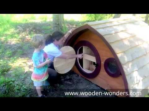 Hobbit Hole Chicken Coop and Dog House