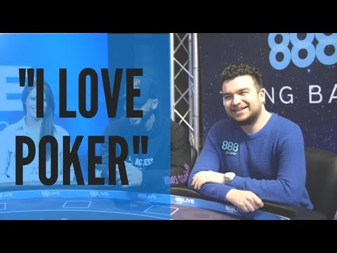 Chris Moorman's Always In It to Win It, No Matter What the Stakes!