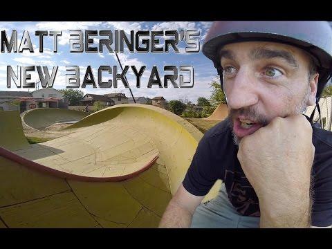 Matt Beringer's New Backyard BMX Setup