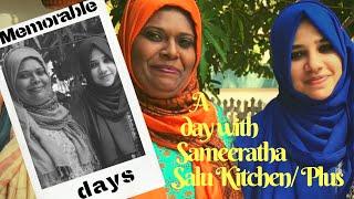 A Day in My life with Sameeratha I Salu Kitchen I Salu Plus -Taste Tours by Shabna hasker