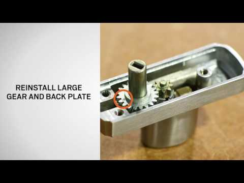 Keyed Lock Cylinder Replacement on Andersen® A-Series, 400 Series, & 200 Series Gliding Patio Doors