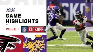 Falcons vs. Vikings Week 1 Highlights | NFL 2019