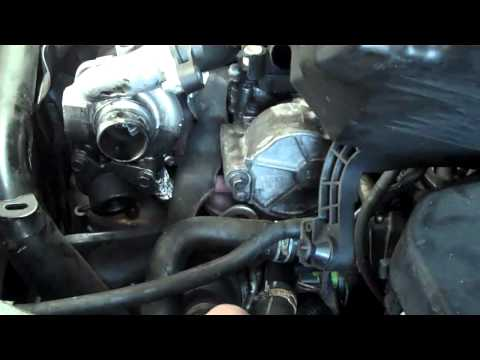 how to change a oil filter on a FORD FOCUS 1,6 TDCI