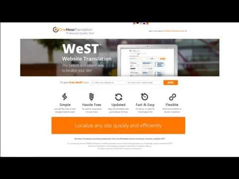 WeST   Professional Website Translation in a click