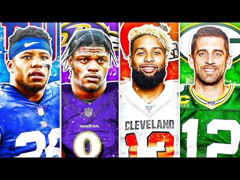 BEST NFL PLAYER FROM EACH AGE