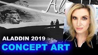 Aladdin 2019 CONCEPT ART - Beyond The Trailer