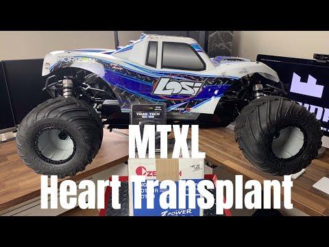 Losi Monster Truck XL MTXL Heart Transplant