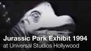 Jurassic Park: Behind the Scenes - 1994 - Universal Studios Hollywood