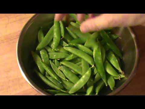 how to cook sugar snap peas