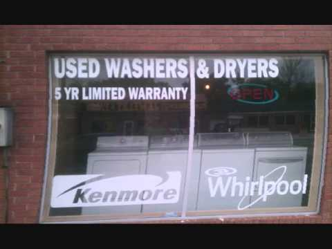 Garry's Affordable Appliances  used Washer and Dryer