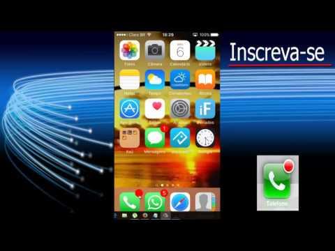 Como remover notificação voicemail do Iphone