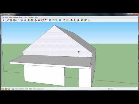 Beginners House Tutorial in Sketchup